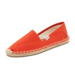 Soludos Orange Original Canvas Dali Espadrilles 8